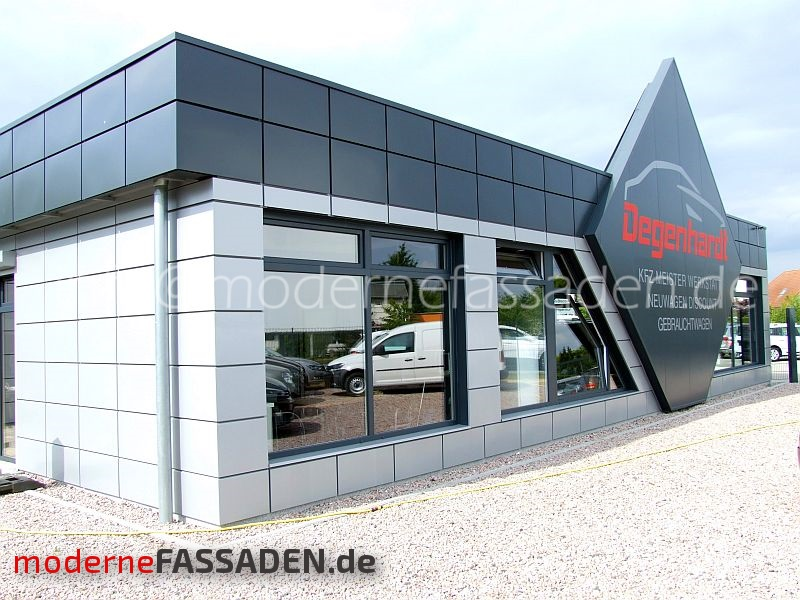 fassade neunwagen discound Rostok